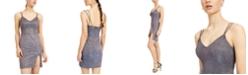 City Studios Juniors' Glitter Bodycon Dress