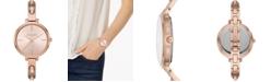 Michael Kors Women's Jaryn Rose Gold-Tone Stainless Steel Bangle Bracelet Watch 36mm