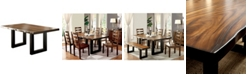 Furniture of America Lake Shasta Solid Wood Dining Table