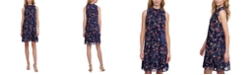Tommy Hilfiger Floral Burnout A-Line Dress