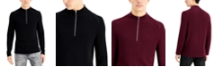 INC International Concepts INC Men's Howie Quarter-Zip Sweater, Created for Macy's
