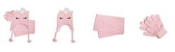 Love 2 Design Big Girls Super Soft Chenille Hat, Scarf and Gloves Set, 3 Piece Set