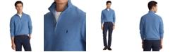 Polo Ralph Lauren Men's Textured Quarter-Zip Sweater