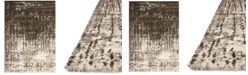 Macy's Fine Rug Gallery Fusion Ivory/Brown Area Rug Collection