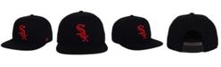 '47 Brand Chicago White Sox Black Red Shot Snapback Cap