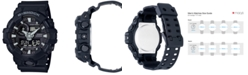 G-Shock Men's Analog-Digital Black Resin Strap Watch 53x58mm GA-700-1B