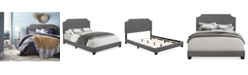Furniture Hamlin Upholstered Beds, Quick Ship