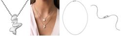 Alex Woo Mermaid Pendant Necklace in Sterling Silver