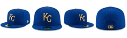 New Era Kids' Kansas City Royals Authentic Collection 59FIFTY Cap