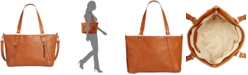 INC International Concepts I.N.C. Emaa Zip Large Satchel, Created for Macy's