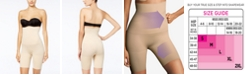 Maidenform Women's  Ultra Tummy-Control Seamless High Waist Thigh Slimmer 12622