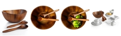 The Cellar Acacia Wood 3 Piece Salad Set, Created for Macy's