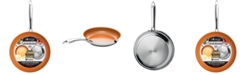 "Gotham Steel Non-Stick Ti-Ceramic 10"" Stainless Steel Fry Pan"