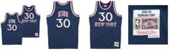 Mitchell & Ness Men's Bernard King New York Knicks Hardwood Classic Swingman Jersey