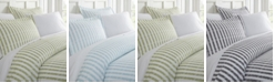 ienjoy Home Tranquil Sleep Patterned Duvet Cover Set by The Home Collection, King/Cal King