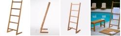 "A.R.B Teak & Specialties ARB Teak Towel Self-Standing Decorative Ladder-59"""