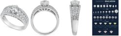 Macy's Diamond Engagement Ring (2-1/4 ct. t.w.) in 14k White Gold