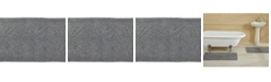 Better Trends Timeless Stone Wash Bath Rug