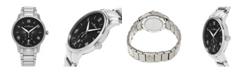 Stuhrling Alexander Watch A102B-02, Stainless Steel Case on Stainless Steel Bracelet