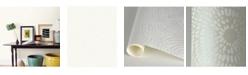 "Brewster Home Fashions Vatten Shibori Wallpaper - 396"" x 20.5"" x 0.025"""