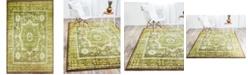 Bridgeport Home Linport Lin7 Green 5' x 8' Area Rug