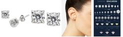 Macy's Diamond Stud Earrings (1 ct. t.w.) in 14k White Gold
