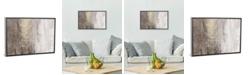 "iCanvas Glitter Rain Ii by Jennifer Goldberger Gallery-Wrapped Canvas Print - 18"" x 26"" x 0.75"""