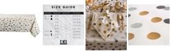 """Design Imports Metallic Confetti Tablecloth 60"""" x 104"""""""
