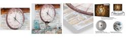 Designart Oversized Contemporary Metal Wall Clock