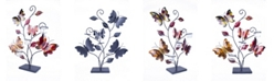Heather Ann Creations Butterfly Collection Lacquered Table Decor