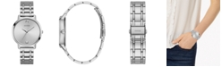GUESS Diamond-Accent Stainless Steel Bracelet Watch 40mm