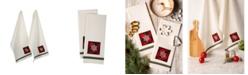 Design Imports Snowflake Embellished Dishtowel Set