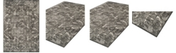 """D Style CLOSEOUT! Logan Lo4 Pewter 9'6"""" x 13'2"""" Area Rugs"""