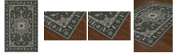 """D Style CLOSEOUT! Torrey Tor4 Charcoal 3'6"""" x 5'6"""" Area Rugs"""