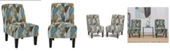 Handy Living Bryce Armless Chair, Set of 2
