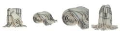 Parkland Collection Casmir Transitional Handloomed Mohair Throw