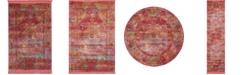 Bridgeport Home Kenna Ken1 Red Area Rug Collection