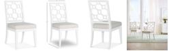 Furniture Chelsea Lattice Back Side Chair