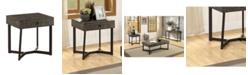 Furniture of America Yurman 1 Drawer End Table
