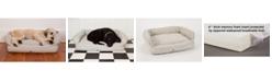 3 Dog Pet Supply Ez Wash Premium Headrest Memory Foam Dog Bed, Small
