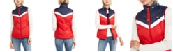 Tommy Hilfiger Colorblocked Zip-Up Puffer Vest
