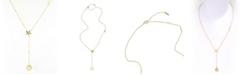 ADORNIA Zodiac Lariat Necklace