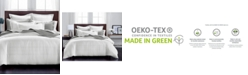 Charter Club CLOSEOUT! Windowpane 3-Pc. Full/Queen Duvet Set, 550-Thread Count Supima Cotton, Created for Macy's