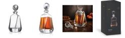 JoyJolt Aurora Crystal Whiskey Decanter, 25.3 Oz