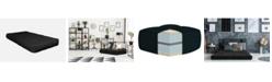 "AJD Home 8"" Double Polyester Single Foam Futon Mattress, Twin"