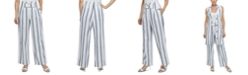 Laundry by Shelli Segal Striped Wide-Leg Pants