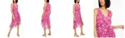 INC International Concepts INC Mosaic-Floral Chiffon Dress, Created for Macy's
