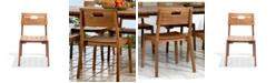 Alaterre Furniture Otero Eucalyptus Wood Outdoor Chair