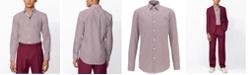 Hugo Boss BOSS Men's Jango Medium Purple Shirt