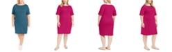 Karen Scott Plus Size Shift Dress, Created for Macy's
